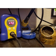 What soldering iron do you use?   Hakko FX-888D